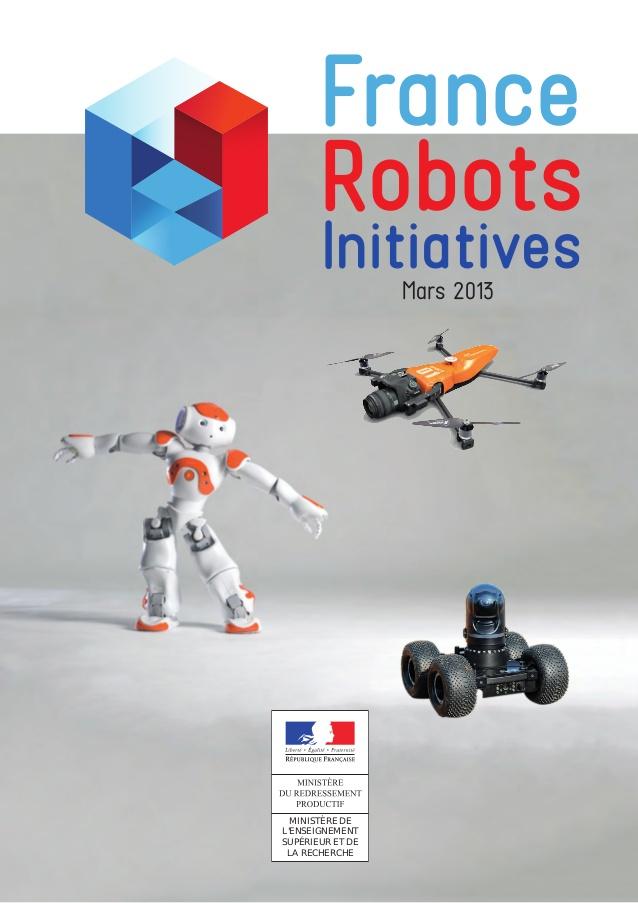 Affiche France Robots Initiative mars 2013