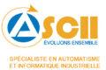 Logo ASCII, spécialistes en automatisme et informatique Industrielle
