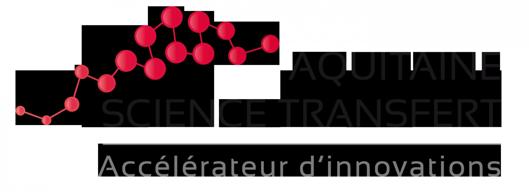 Logo Aquitaine Science Transfert, Accélérateur d'innovations