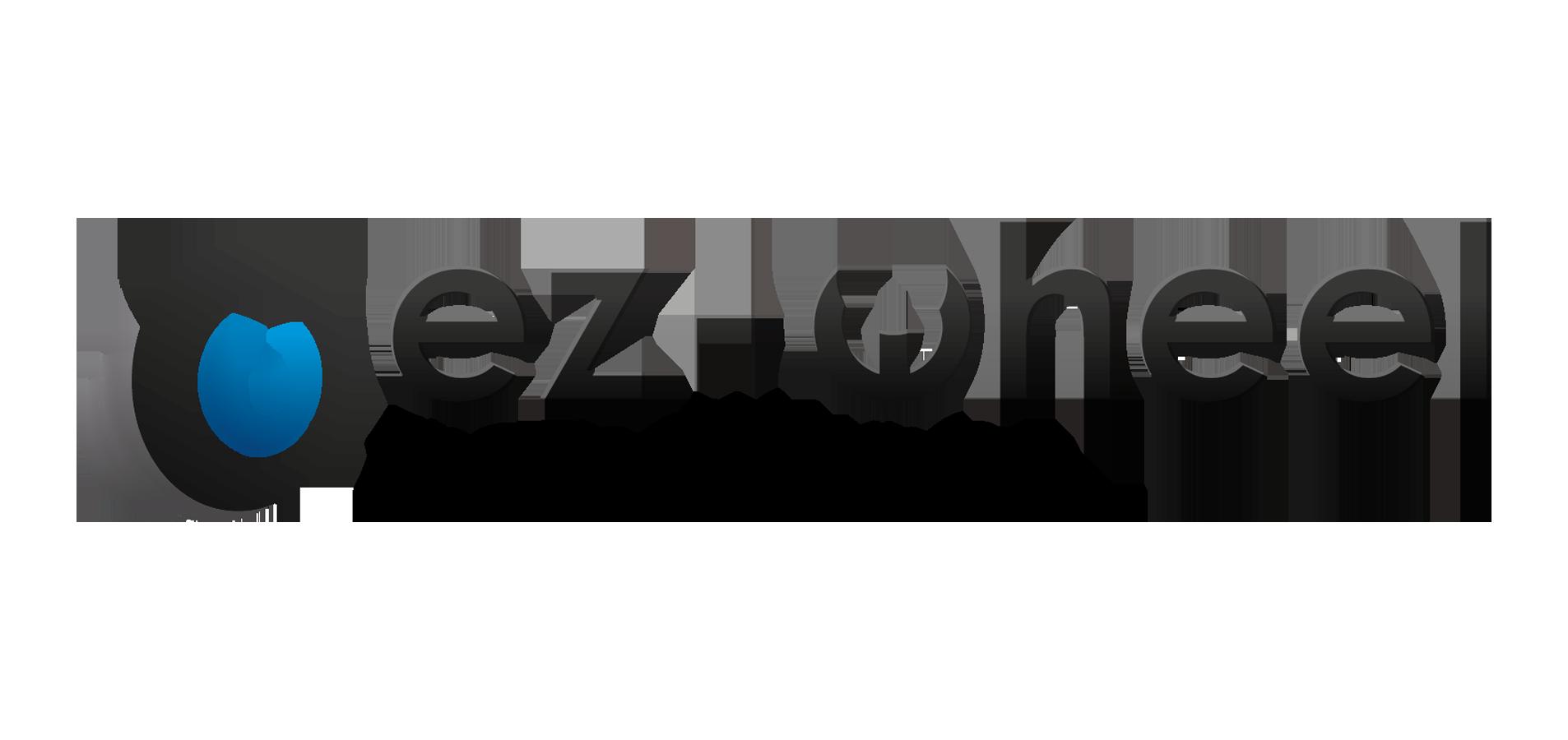 Logo Horizontal de EZ-WHEEL, The Electric Wheel