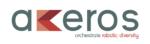 Logo AKEROS. Orchestrate Robotic Diversity