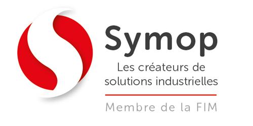 Logo Symop, Créateurs de solutions industrielles, Membre de la FIM