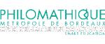 Logo Philomathique, Métropole Bordeaux
