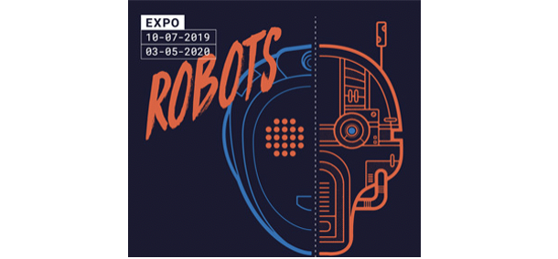 Affiche de l'exposition robots à Capsciences
