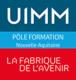 Logo UIMM, Pôle Formation Nouvelle-Aquitaine, La Fabrique de l'avenir