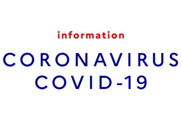 Image d'annonce d'information COVID-19