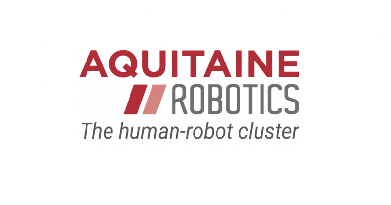 Logo Aquitaine Robotics, The human-robot cluster