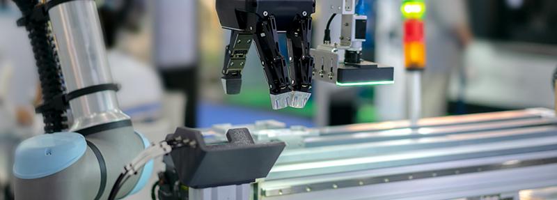 photographie d'un robot ASTRID en plein travail